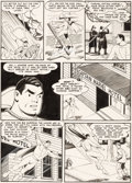 Original Comic Art:Panel Pages, Kurt Schaffenberger Whiz Comics #132 Story Page 4 CaptainMarvel Original Art (Fawcett, 1951)....