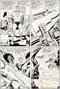 Original Comic Art:Panel Pages, Jack Kirby and Vince Colletta Superman's Pal, Jimmy Olsen#133 Story Page 13 Original Art (DC, 1970)....