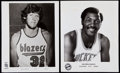 Basketball Collectibles:Photos, Vintage 1970's - 1980's Basketball Player & Team Photo Collection (24). ... (Total: 15 item)