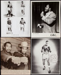 Boxing Collectibles:Memorabilia, 1960's - 1970's Vintage Boxing photos Collection (12) With Ali, Foreman, Frazier. ...