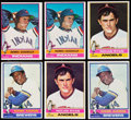 Baseball Cards:Sets, 1976 Topps Baseball Complete Sets Pair (2).... (Total: 2 items)