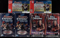Baseball Cards:Unopened Packs/Display Boxes, 2002-03 Bowman Chrome and Topps Chrome Baseball, Basketball &Football Unopened Boxes Lot of Six (6)....