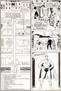 Original Comic Art:Panel Pages, Keith Giffen and Wally Wood All-Star Comics #62 Page 20Original Art (DC, 1976)....