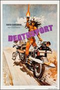 """Movie Posters:Science Fiction, Deathsport & Other Lot (New World, 1978). Folded, Overall: Fine/Very Fine. One Sheets (4) (27"""" X 41"""") Teaser. Science Fictio... (Total: 4 Items)"""