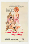 """Movie Posters:Sexploitation, The Girls Who'll Do Anything & Others Lot (Group 1, 1976). OneSheets (5) (27"""" X 41"""") Robert McGinnis Artwork. Sexploitation...(Total: 5 Items)"""