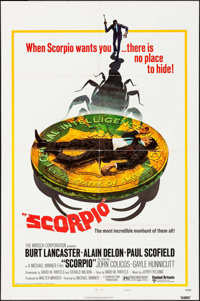 """Scorpio & Others Lot (United Artists, 1973). One Sheets (7) (26.5"""" X 39.5"""" & 27"""" X 41""""). Thr..."""