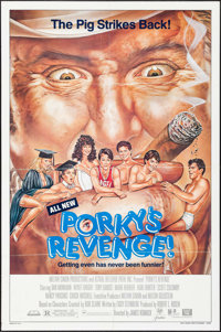 "Porky's Revenge & Others Lot (20th Century Fox, 1985). One Sheets (4) (27"" X 41""). Comedy. ... (Total: 4 I..."