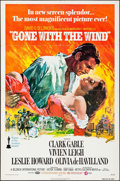 """Movie Posters:Academy Award Winners, Gone with the Wind (MGM, R-1974). One Sheet (27"""" X 41""""). Howard Terpning Artwork. Academy Award Winners.. ..."""