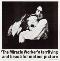 "The Miracle Worker (United Artists, 1962). Six Sheet (79.5"" X 80""). Drama"