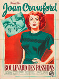 "Movie Posters:Drama, Flamingo Road (Warner Brothers, 1949). French Grande (47"" X 63""). Pierre Pigeot Artwork. Drama.. ..."