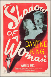 """Shadow of a Woman (Warner Brothers, 1946). One Sheet (27"""" X 41""""). Thriller"""