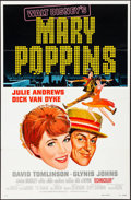 """Movie Posters:Fantasy, Mary Poppins (Buena Vista, R-1980). One Sheet (27"""" X 41"""") Style A & Photos (9) (8"""" X 10""""). Fantasy.. ... (Total: 10 Items)"""
