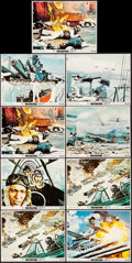 "Movie Posters:War, Tora! Tora! Tora! (20th Century Fox, 1970). Mini Lobby Cards (9)(8"" X 10"") & Photos (3) (8"" X 10""). War.. ... (Total: 12 Items)"