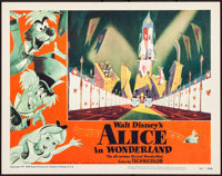 "Alice in Wonderland (RKO, 1951). Lobby Card (11"" X 14""). Animation"