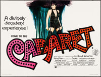 "Cabaret (Cinerama, 1972). British Quad (30"" X 39.5""). Musical"