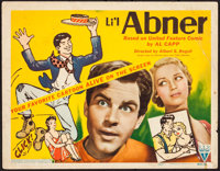 "Li'l Abner (RKO, 1940). Title Lobby Card (11"" X 14""). Al Capp Artwork. Comedy"