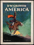 "Movie Posters:Drama, America (United Artists, 1924). Program (Multiple Pages, 9"" X 12"").Drama.. ..."