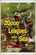 "Movie Posters:Science Fiction, 20,000 Leagues Under the Sea (Buena Vista, R-1963). One Sheet (27"" X 41"") Style A, Bruce Bushman Artwork. Science Fiction.. ..."