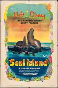 "Seal Island & Other Lot (RKO, 1949). One Sheets (2) (27"" X 41""). Documentary. ... (Total: 2 Items)"