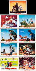 """Movie Posters:Animation, Song of the South (Buena Vista, R-1972). Lobby Card Set of 9 (11"""" X 14""""). Animation.. ... (Total: 9 Items)"""