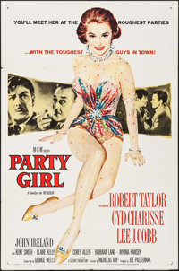 """Party Girl (MGM, 1958). One Sheet (27"""" X 41""""). Film Noir"""