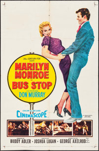 "Bus Stop (20th Century Fox, 1956). One Sheet (27"" X 41""). Drama"