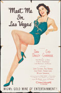 "Movie Posters:Musical, Meet Me in Las Vegas (MGM, 1956). One Sheet (27"" X 41""). Musical.. ..."