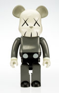 Fine Art - Sculpture, American:Contemporary (1950 to present), KAWS X BE@RBRICK. Companion 1000%, 2002. Painted cast vinyl.28-1/4 x 14 x 9 inches (71.8 x 35.6 x 22.9 cm). Stamped on ...