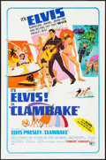 "Movie Posters:Elvis Presley, Clambake (United Artists, 1967). One Sheet (27"" X 41""). Elvis Presley.. ..."