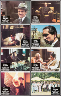 "The Godfather Part II (Paramount, 1974). Lobby Card Set of 8 (11"" X 14""). Crime. ... (Total: 8 Items)"