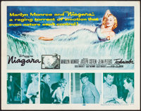 "Niagara (20th Century Fox, 1953). Half Sheet (22"" X 28""). Film Noir"