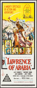 "Movie Posters:Academy Award Winners, Lawrence of Arabia & Other Lot (Columbia, 1963). AustralianDaybill (13"" X 30"") & Lobby Card Set of 8 (11"" X 14""). AcademyA... (Total: 9 Items)"