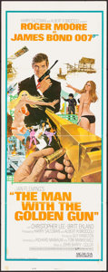 "Movie Posters:James Bond, The Man with the Golden Gun (United Artists, 1974). International Insert (14"" X 36""). Robert McGinnis Artwork. James Bond.. ..."