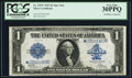 Large Size:Silver Certificates, Fr. 239* $1 1923 Silver Certificate PCGS Very Fine 30PPQ.. ...