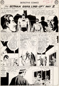 Original Comic Art:Panel Pages, Sheldon Moldoff and Joe Giella Detective Comics #328 StoryPage 8 Original Art (DC, 1964)....
