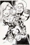 Original Comic Art:Splash Pages, Mark Bagley and Scott Hanna Venom #165 Splash Page 20Original Art (Marvel, 2017)....