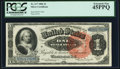 Large Size:Silver Certificates, Fr. 217 $1 1886 Silver Certificate PCGS Extremely Fine 45PPQ.. ...