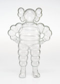 Fine Art - Sculpture, American:Contemporary (1950 to present), KAWS (b. 1974). Chum (Clear), 2002. Plastic. 13 x 8 x 3inches (33.0 x 20.3 x 7.6 cm). Ed. 315/1000. Stamped with artist...