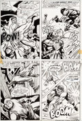 Original Comic Art:Panel Pages, George Tuska and Billy Graham Hero for Hire #9 Page 12Original Art (Marvel, 1973)....