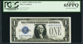 Small Size:Silver Certificates, Fr. 1604* $1 1928D Silver Certificate. PCGS Gem New 65PPQ.. ...