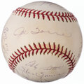 Autographs:Baseballs, 2001 New York Yankees - American League Champions - Team S...