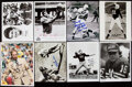 Autographs:Photos, Football Photograph Lot of 30 with 27 Signed. Offe...