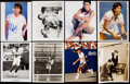 Autographs:Photos, Misc. Photograph Lot of 8 with 5 Signed. Offered a...