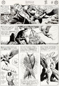 Original Comic Art:Panel Pages, Murphy Anderson Hawkman #10 Story Page 4 Original Art (DC,1965)....