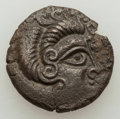 Ancients:Celtic, Ancients: NORTHERN GAUL. Coriosolites. Ca. 100-50 BC. BI stater(6.26 gm). About VF....