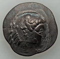 Ancients:Celtic, Ancients: DANUBE REGION. Imitating Alexander III the Great. 2ndcentury BC. AR tetradrachm (12.03 gm). VF....