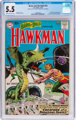 The Brave and the Bold #34 Hawkman (DC, 1961) CGC FN- 5.5 Cream to off-white pages