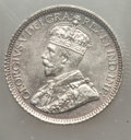 Canada, Canada: George V Pair of Certified Coinage,... (Total: 2 coins)