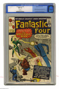 Silver Age (1956-1969):Superhero, Fantastic Four #20 (Marvel, 1963) CGC NM 9.4 White pages. One of the Marvel Universe's most powerful villains, the Molecule ...