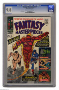 Silver Age (1956-1969):Superhero, Fantasy Masterpieces #7 (Marvel, 1967) CGC NM/MT 9.8 Off-white towhite pages. This title gave kids of the 1960s a chance to...